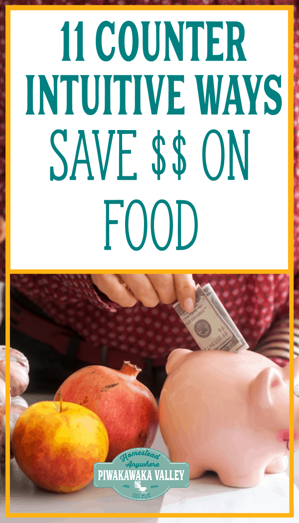 counter intuitive ways to save money on food bill