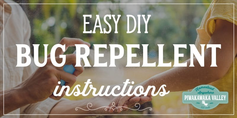 Easy DIY Insect Repellent - Totally Natural, Effective Sandfly Repellent promo image