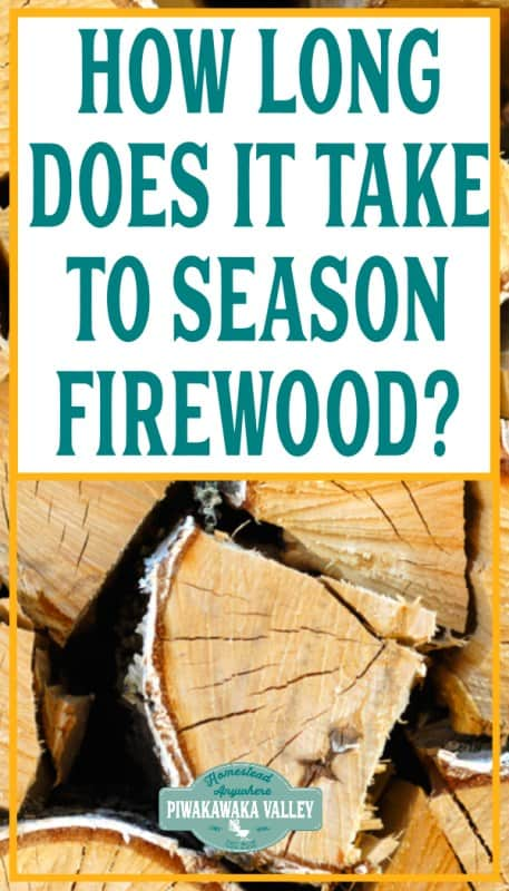 How long does it take to season firewood? promo image