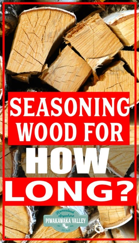 """How long does it take to season firewood? The answer is, it depends on several factors. Generally speaking, most common fire wood options will dry well in 6-9 months, given good drying conditions. Firewood is considered """"well seasoned"""" once the moisture levels get below 20% but there are many variables that will affect how long it takes for a log of firewood to get to that level."""