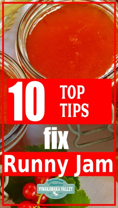 Nothing beats a thick slab of homemade jelly on a well-done peanut butter and jelly sandwich. But that's all ruined if the jam isn't set enough. Luckily, if you make a runny batch of jam or jelly, you can fix it. Here are a few tips to help you reclaim your jam.