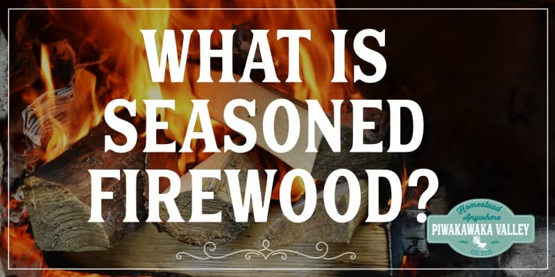 If you have a wood fire and are new to the world of firewood, you might be wondering what is seasoned firewood? Seasoned firewood is dry and burns hot and cleanly.  What is seasoned firewood? Seasoned wood has been allowed time to dry out and it is more efficient to burn. Seasoned wood will have a moisture content of under twenty percent and it takes on an aged look about it.
