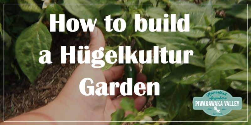 How to Build Hügelkultur Gardens promo image