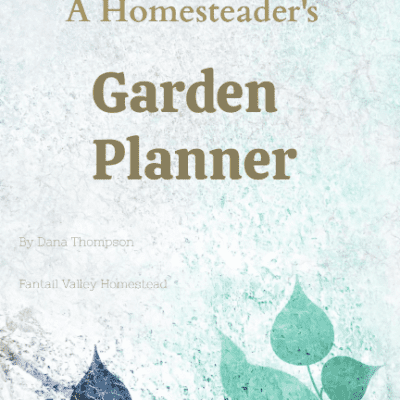 printable garden journal and planner cover image